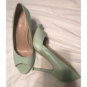 Robins Egg blue BCBG heels